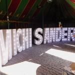 Leuchtbuchstaben zum Geburtstag im Roadrunners Club Berlin