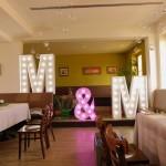 Leuchtbuchstaben zur Hochzeit in Stuttgart
