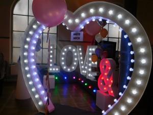 Messestand Love Circus Bash