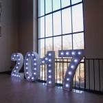 Leuchtzahlen Event
