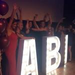 Leuchtbuchstaben Abi Ball