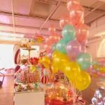 Ballondekoration Bloggerevent