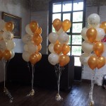 Ballondekoration Hochzeit