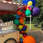 Ballongirlande als Partydekoration