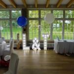 Ballondekoration zur Hochzeit