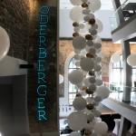 Große Ballondekoration für Firmenfeiern
