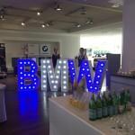 Leuchtbuchstaben BMW Jubiläum