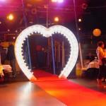 Leuchtherz zur Hochzeit